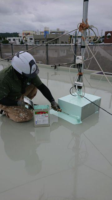 屋上防水遮熱工事